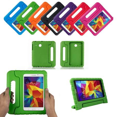 Galaxy Tab E 8.0 T377 Kids Case by KIQ Child-Friendly Fun Kiddie Tablet Cover EVA Foam For Samsung Galaxy Tab E 8 inch SM-T377 (Green) for $<!---->