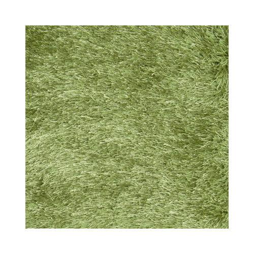 LR Resources Senses Shag Green Rug