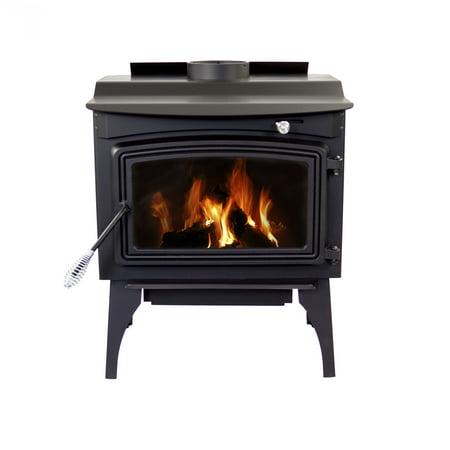 Pleasant Hearth 1,800 Sq. Ft. Medium Wood Burning