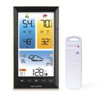 AcuRite 01201M Weather Station with Vertical Color Display & Indoor/Outdoor Temperature Alerts