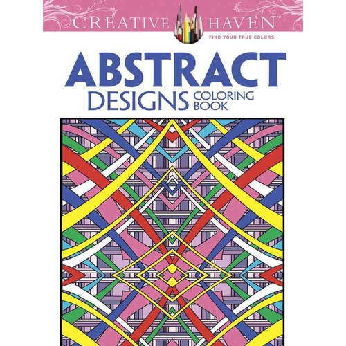 Abstract Designs Adult Coloring Book