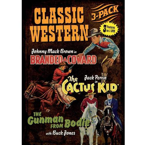 Classic Western 3-Pack *Cactus Kid/Branded a Coward/Gunman from Bodie
