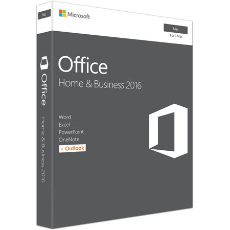 Microsoft Office Home And Business 2016 For Mac   1 User  Mac Key Card