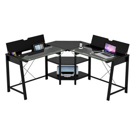 Z-Line Designs Vance 'L' Desk (Z Line Designs Morvan White Office Desk Zl861601ed)
