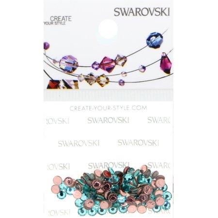 Swarovski 2038 Hot Fix Rhinestones FlatBack 10ss Light Turquoise 100 pcs