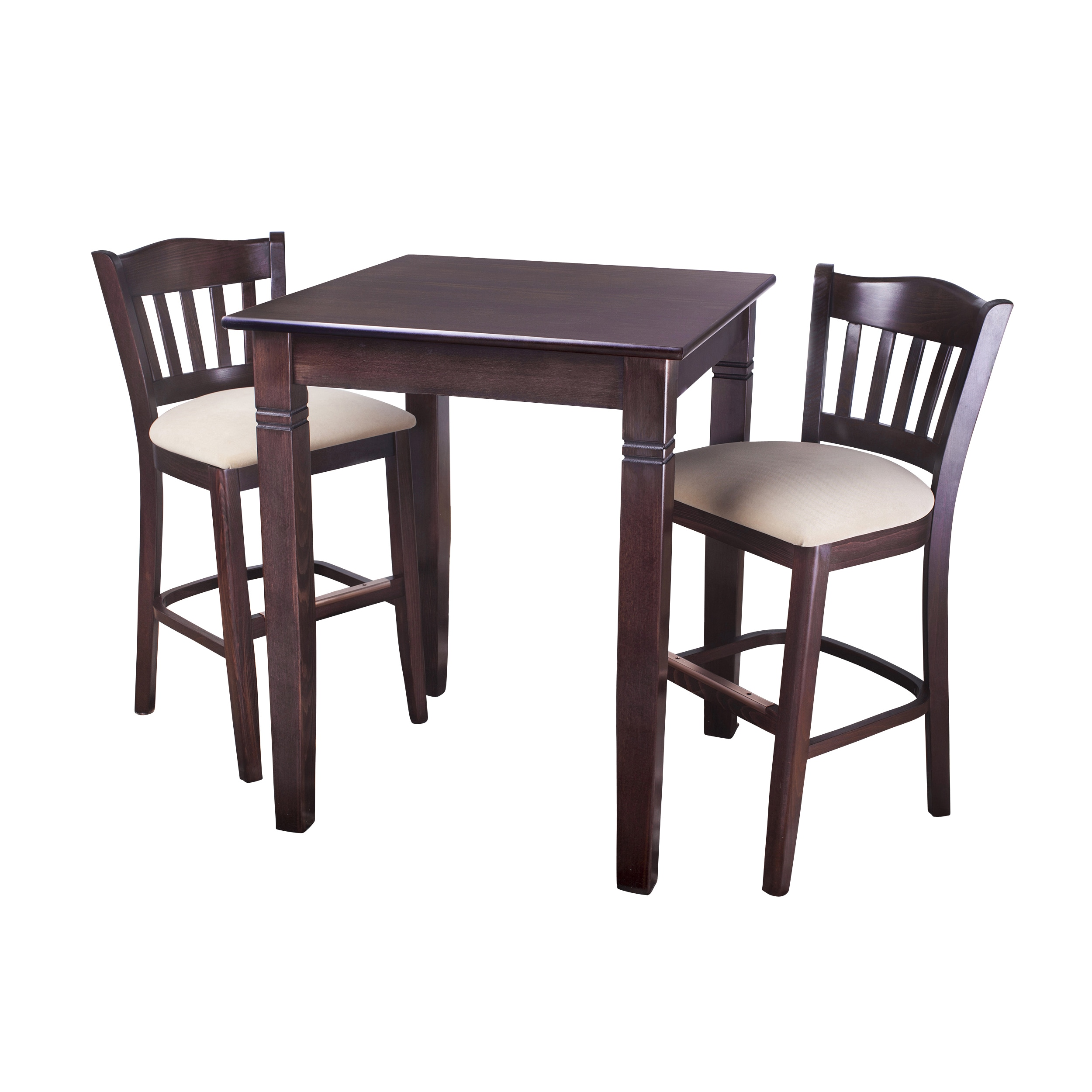 Beechwood Mountain LLC 3-Piece Pub Height Dining Room Set by Overstock