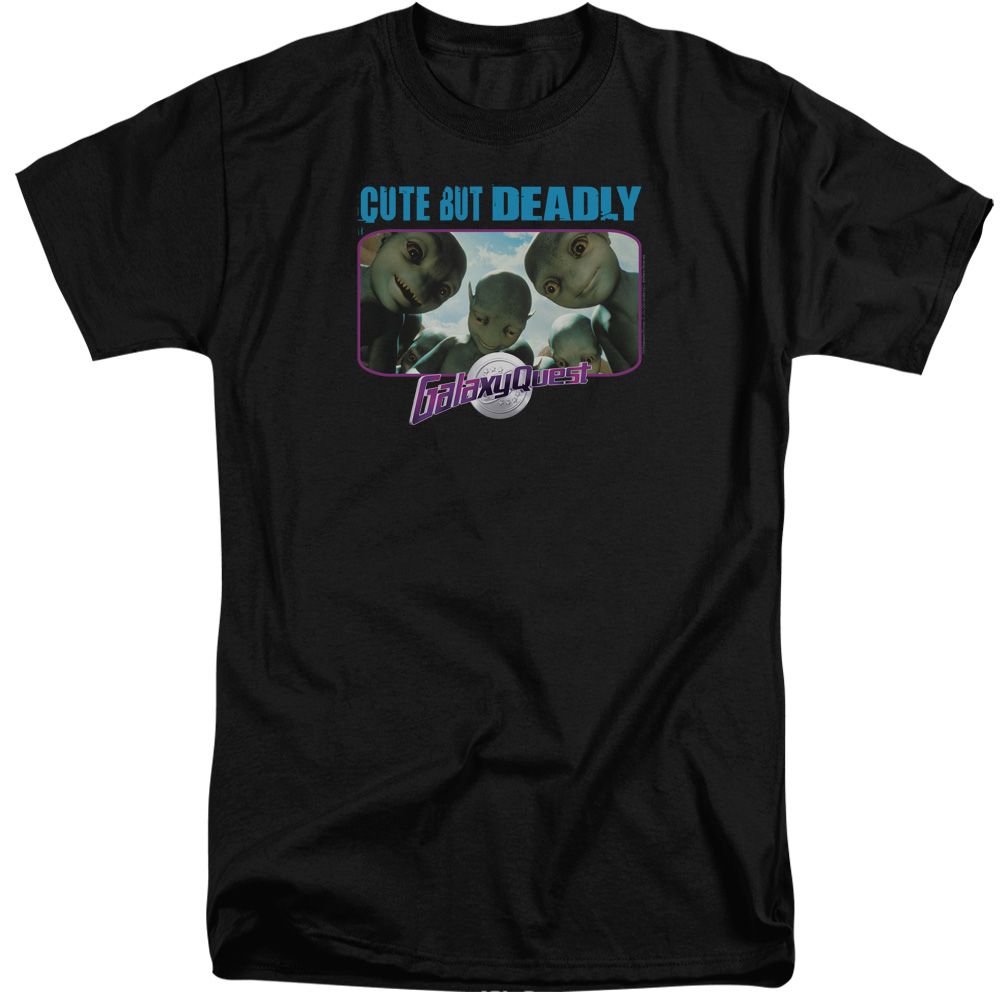 Galaxy Quest Cute But Deadly Mens Big and Tall Shirt