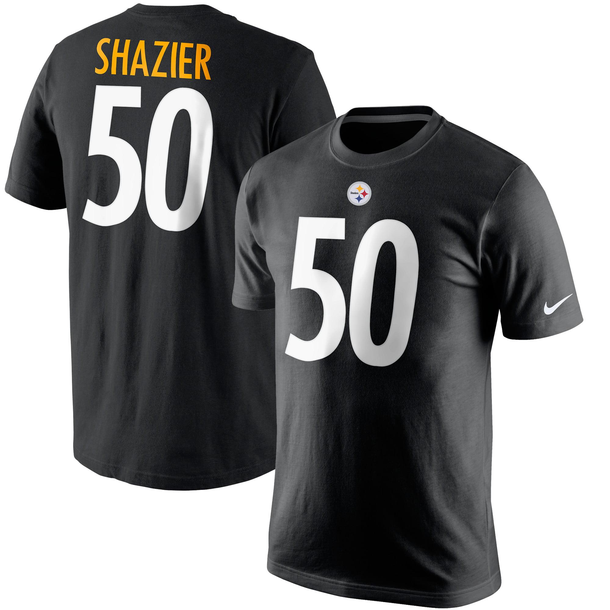 Ryan Shazier Pittsburgh Steelers Nike Player Pride Name & Number T-Shirt - Black