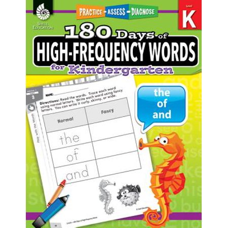 180 Days of High-Frequency Words for Kindergarten : Practice, Assess, Diagnose - Halloween Patterns For Kindergarten