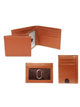 de80b237385f49 Product Image George NAPPA Leather Billfold Wallet and Card Case