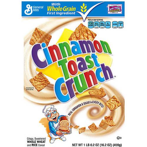 Cinnamon Toast Crunch™ Cereal 16.2 oz. Box