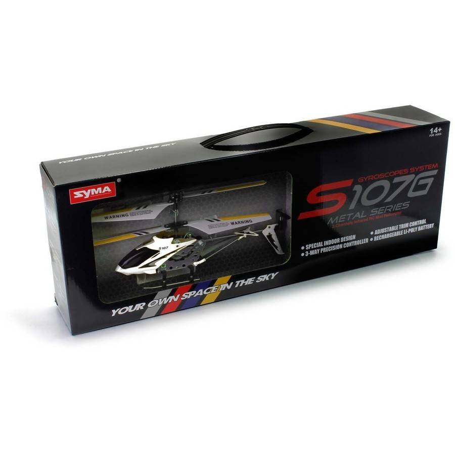 Syma S107G 3-Channel RC Helicopter with Gyro