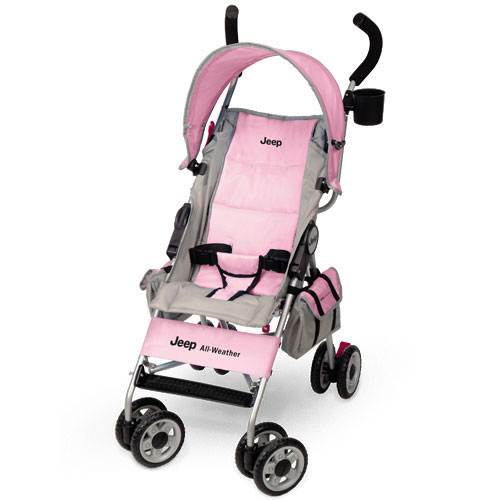 Jeep - All Weather Reclining Umbrella Stroller, Pink