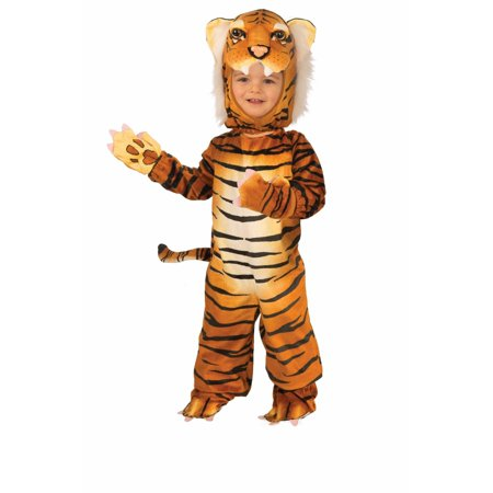 Halloween Infant/Toddler Plush - Orange - Tiger - Cat Tiger Costume