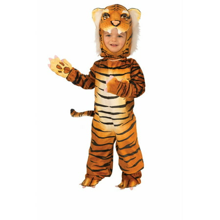 Halloween Infant/Toddler Plush - Orange - Tiger - Men Tiger Costume