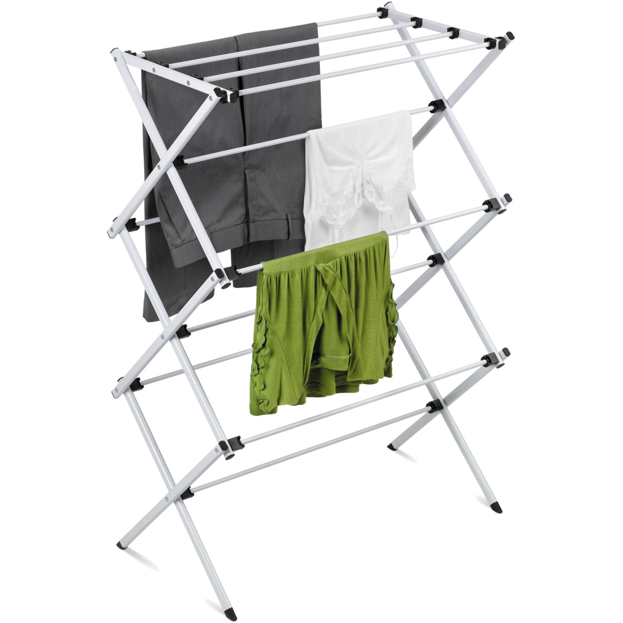 Gentil Honey Can Do Heavy Duty Rustproof Metal Drying Rack, Silver   Walmart.com
