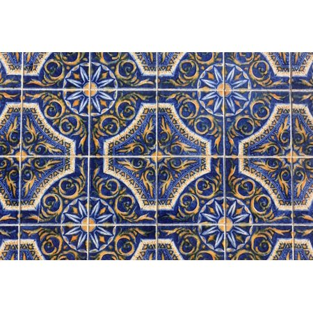 Framed Art for Your Wall Ceramic Tiles Portugal Wall 10x13