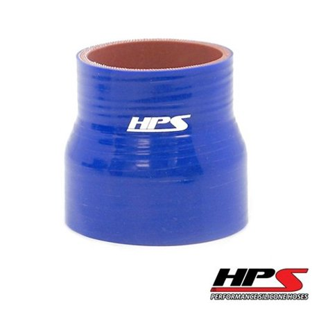 Reinforced Silicone Reducer (HTSR-150-162-BLUE Silicone High Temperature 4-ply Reinforced Reducer Coupler Hose, 100 PSI Maximum Pressure, 3
