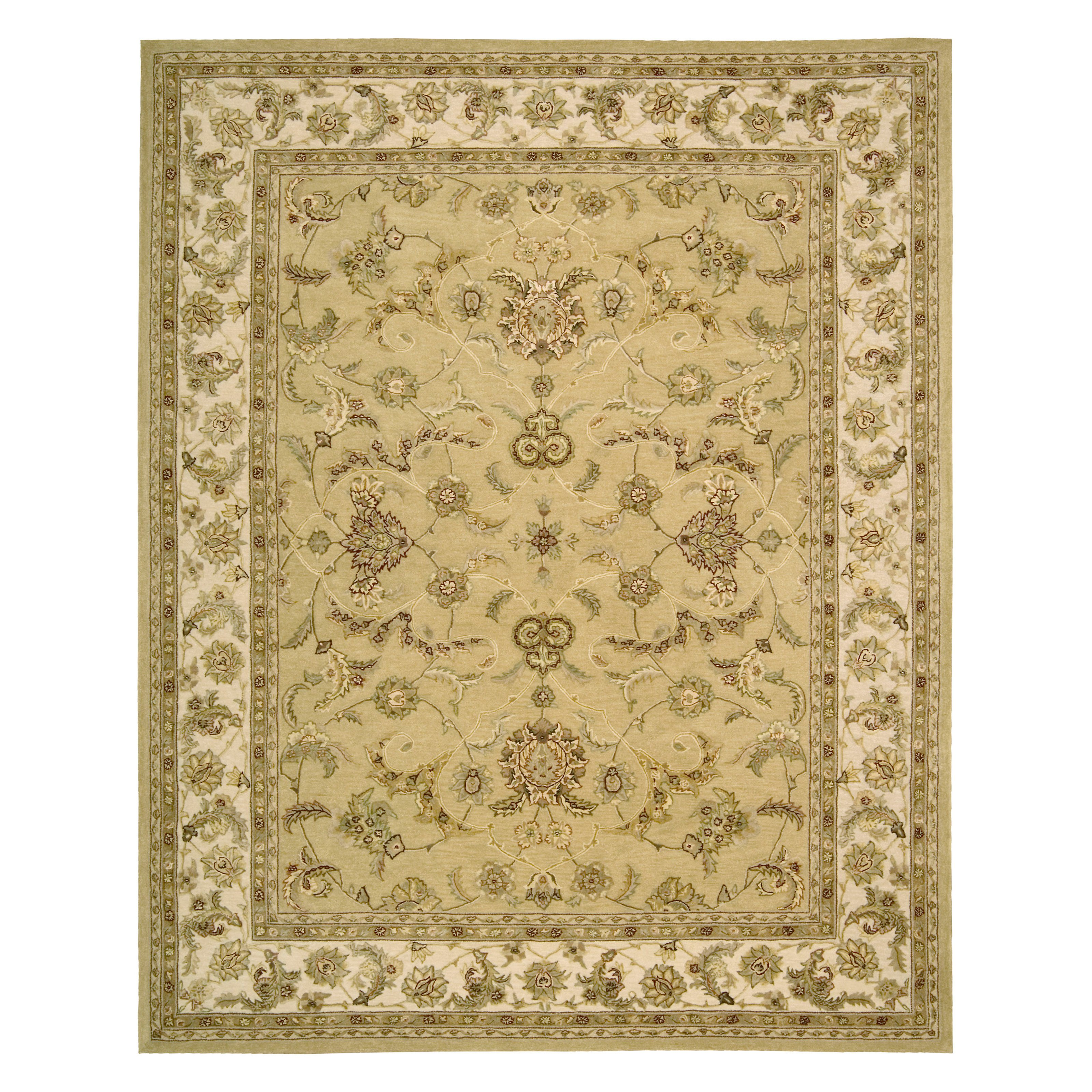 Nourison 3000 3104 Area Rug - Yellow 605