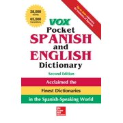 Vox Pocket Spanish and English Dictionary, 2nd Edition (Paperback)