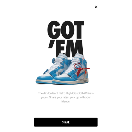 f2d8403cf005 Air Jordan - Mens Air Jordan 1 Retro High OG x Off White UNC Dark ...