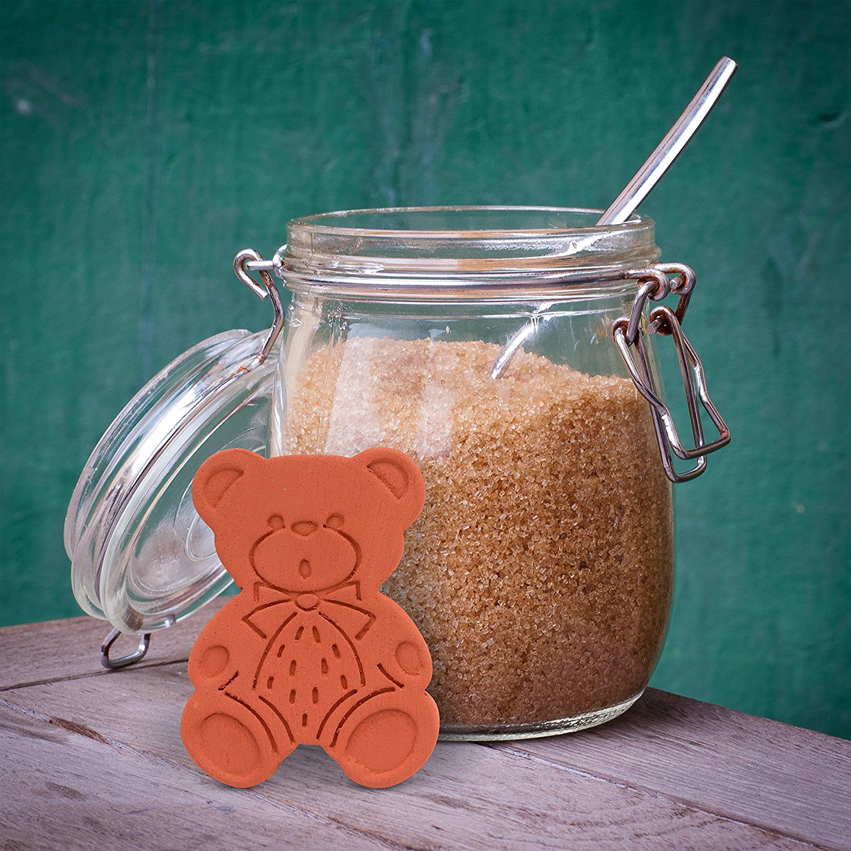4 pack Food safe and reusable Brown Sugar Bear