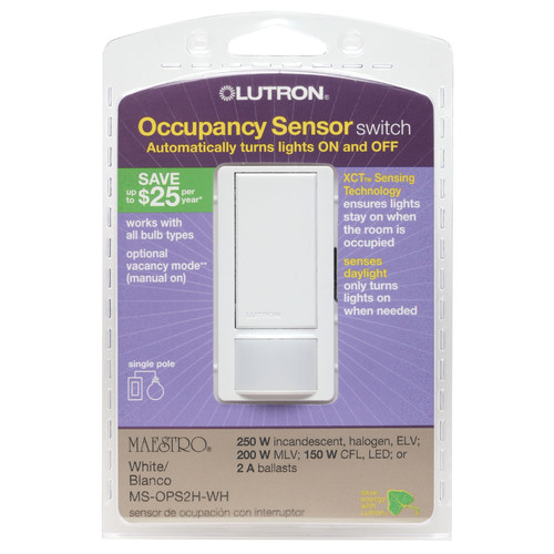 Lutron Occupancy Sensor Switch