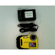 Refurbished Fujifilm FinePix XP80 Waterproof Digital Camera with 2.7-Inch LCD (Yellow)