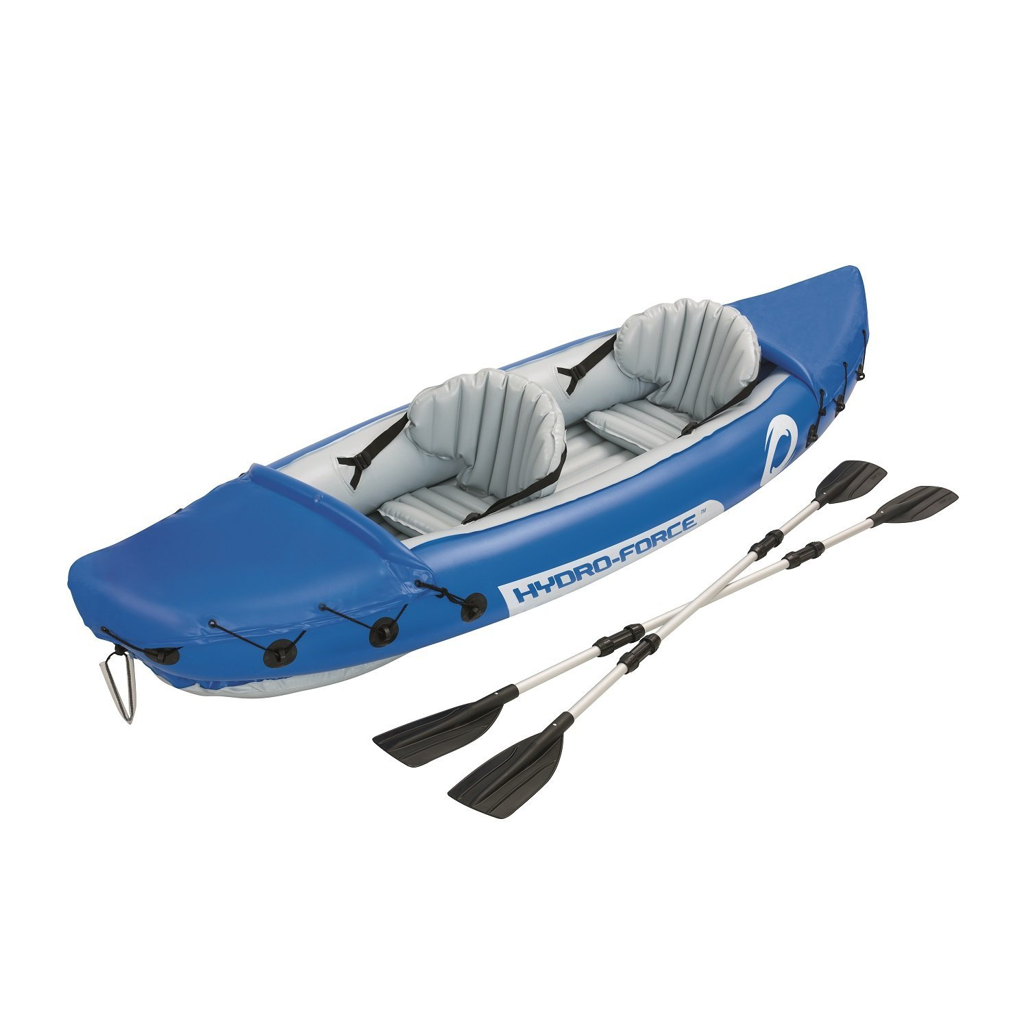 Bestway 126 x 35 Inches Lite-Rapid X2 Inflatable Kayak Float with Oars | 65077E