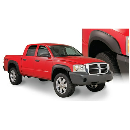 Bushwacker 05-10 Dodge Dakota Crew Cab Fleetside Extend-A-Fender Style Flares 4pc 64.9in Bed - - Bushwacker Pocket Style Fender Flares