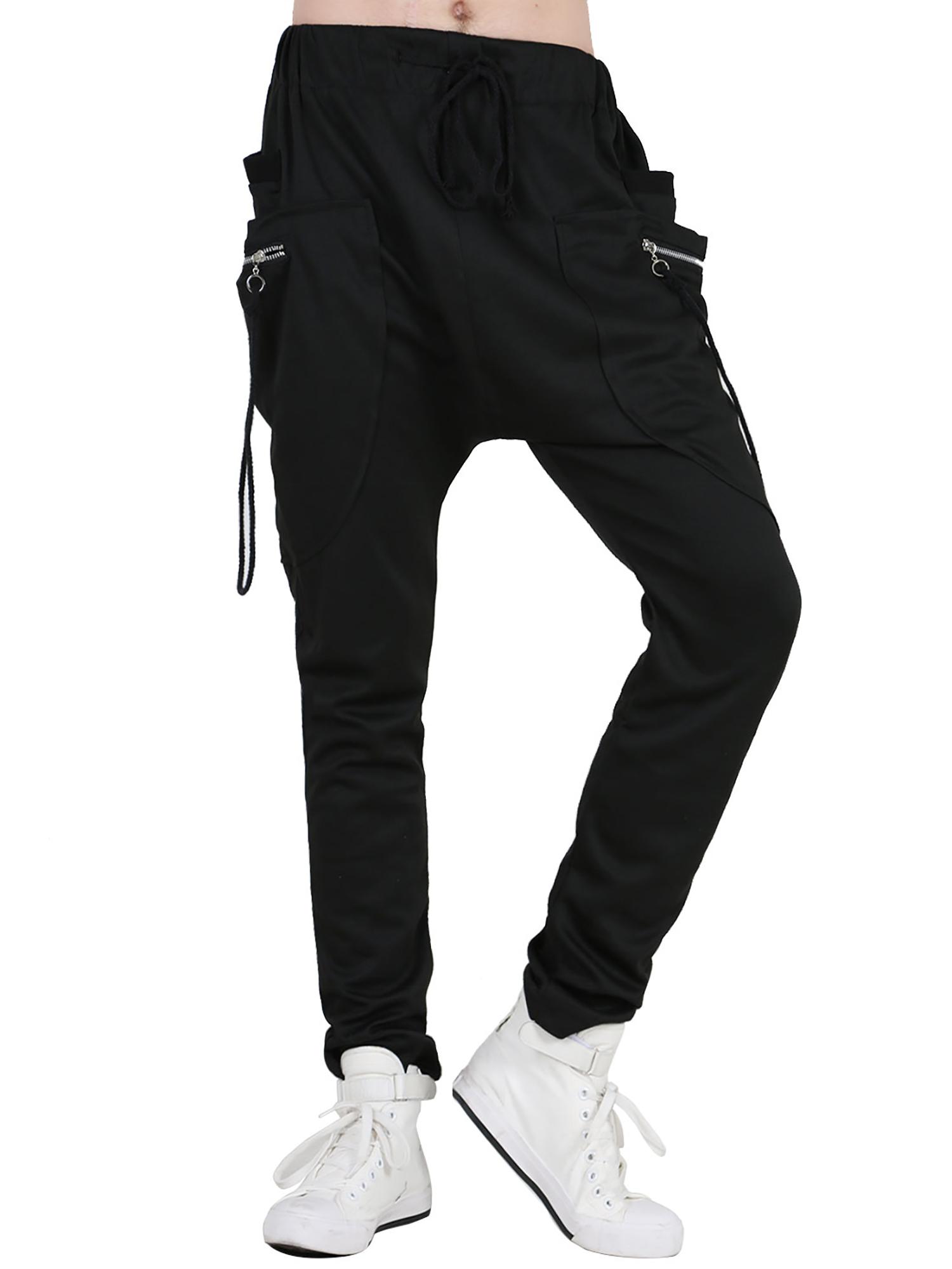 Men's Sports Wear Design Drawstring Waist Pants