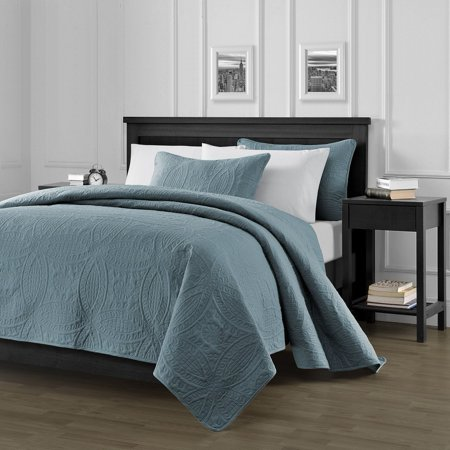 Chezmoi Collection Austin 3-Piece Oversized Bedspread Coverlet (Discount Bedspreads)