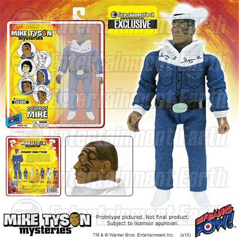 Mike Tyson Mysteries Mike Tyson Cowboy 8-Inch Action Figure - Entertainment Earth Exclusive