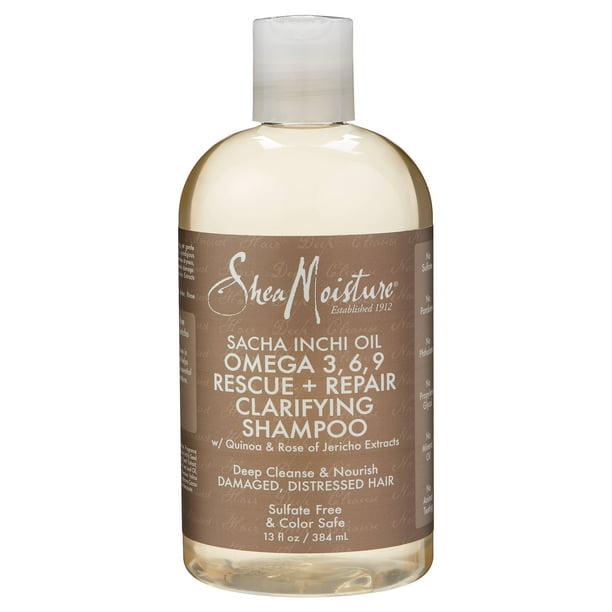 Shea Moisture Omega 3 6 9 Rescue Repair Clarifying Shampoo 13 Oz