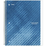 Five Star Performance 1 Subject Wide Ruled Wire bound Notebook, Blue (05568)