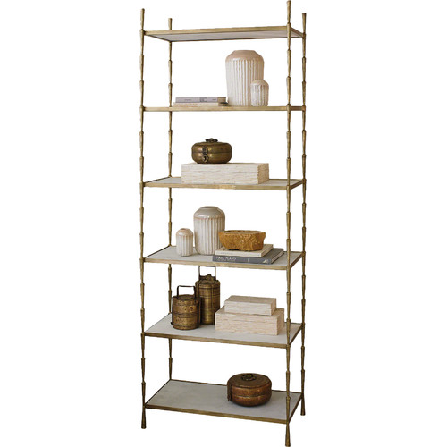 Mercer41 Huddersfield 80'' Etagere Bookcase by