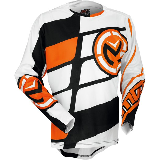Moose Racing Softgoods S7 M1 Jerseys Orange White Md 2910 4045 Walmart Com Walmart Com