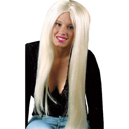 Morris Costumes Womens Blonde Long Locks Wig Adult Halloween Accessory](Halloween Lock In)