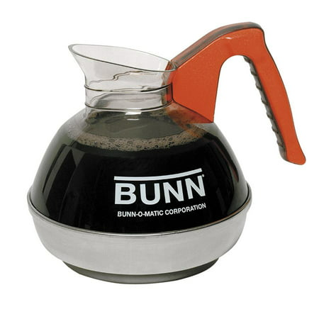 Bunn Coffee Decanter - BUNN Unbreakable 12-Cup Decanter, Orange, 1 Each (Quantity)