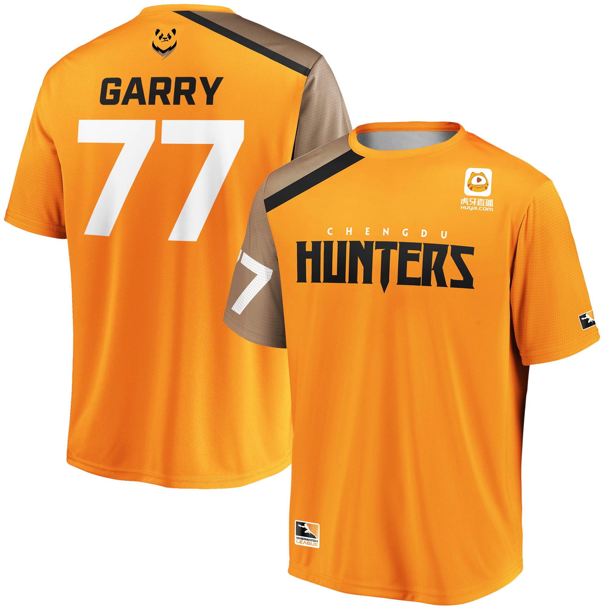 Garry Chengdu Hunters Overwatch League Replica Home Jersey - Orange
