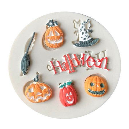 AkoaDa Silicone Halloween Party Skull Chocolate Fondant Cake Mould Cake Decorating](Decorating Halloween Cakes Ideas)