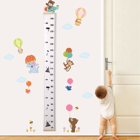 Baby Height Growth Chart Hanging Rulers Room Decoration Wall Decor