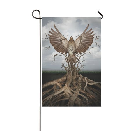 Rise Against Flag - MYPOP New Life Rise Of The Phoenix Outdoor Decorative Flag Garden Flag 28x40 inches