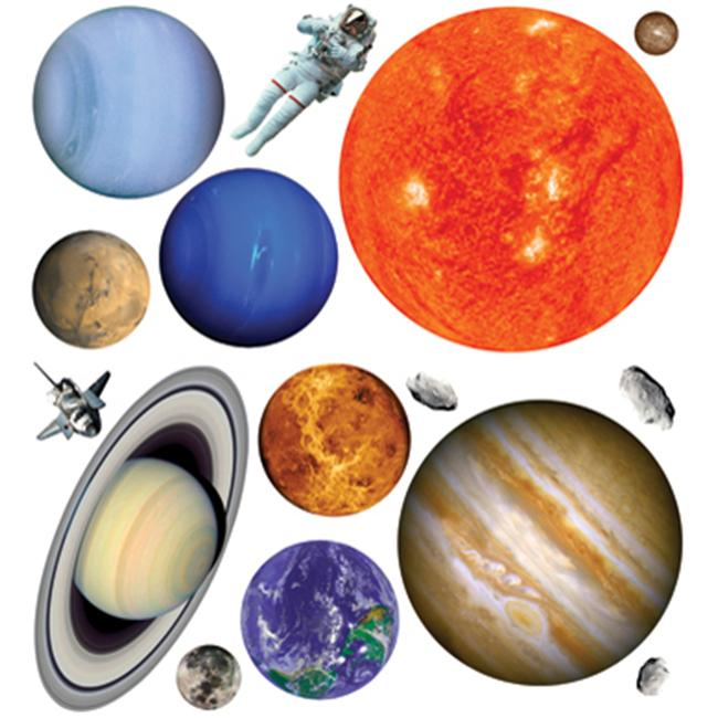 Biggies WS-PNT-50 Wall Stickies-Planets-50 - image 1 of 1