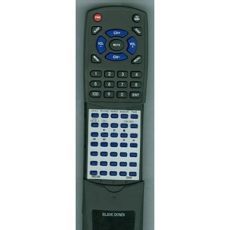 Replacement Remote for DENON 3990313008, RT3990313008, RC258, DCM60, DCM360, DCM380, DCM260, DCM30, DCM280 -  Redi-Remote