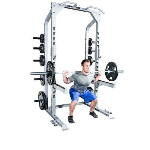Champion Half Rack and Platform