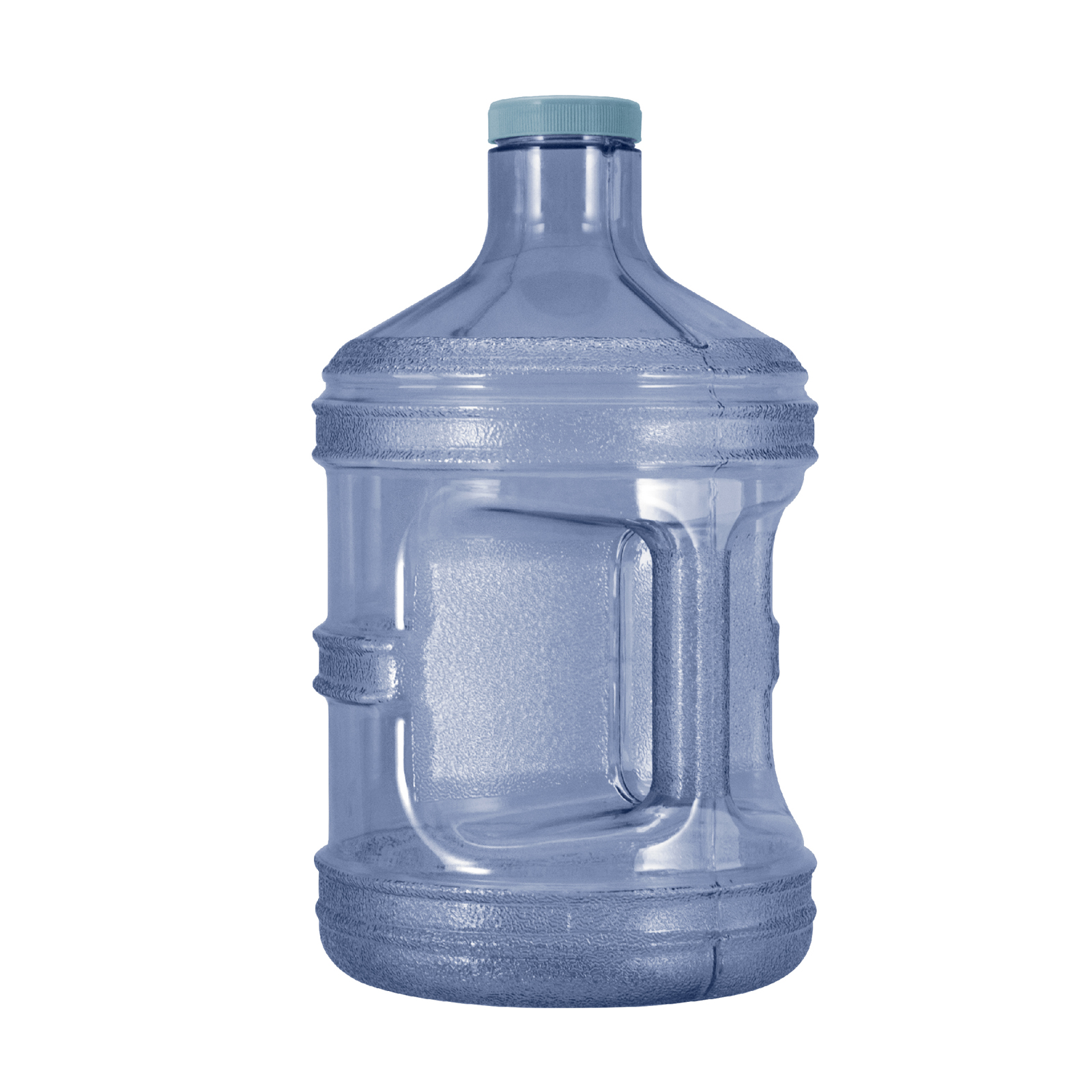 1 Gallon BPA FREE Reusable Plastic Water Bottle Jug Container