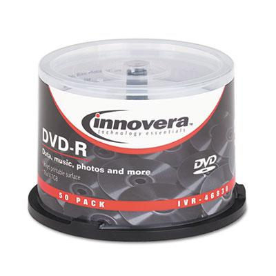 Innovera DVD-R Inkjet Printable Recordable Disc