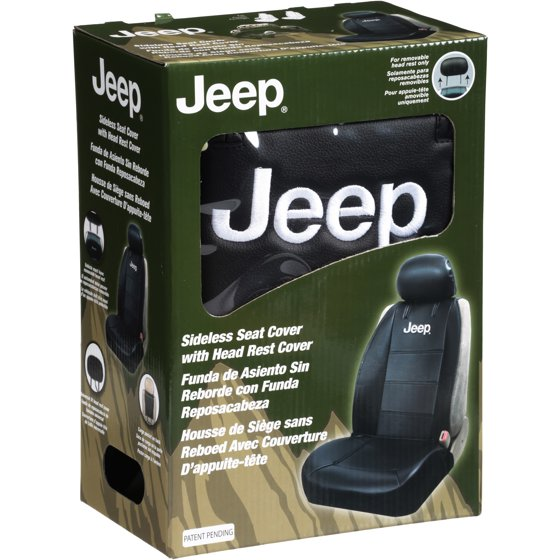 Jeep Seat Covers >> Jeepa Sideless Seat Cover With Head Rest Cover