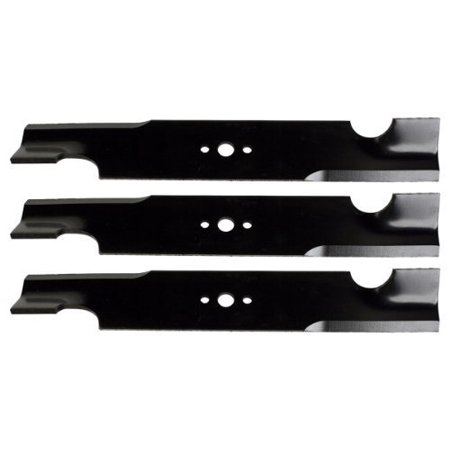 32 Point Blade ((3) USA Mower Blades for Snapper Pro 5020843, Giant Vac 0640 32